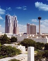 San Antonio, TX Skyline, April, 2005